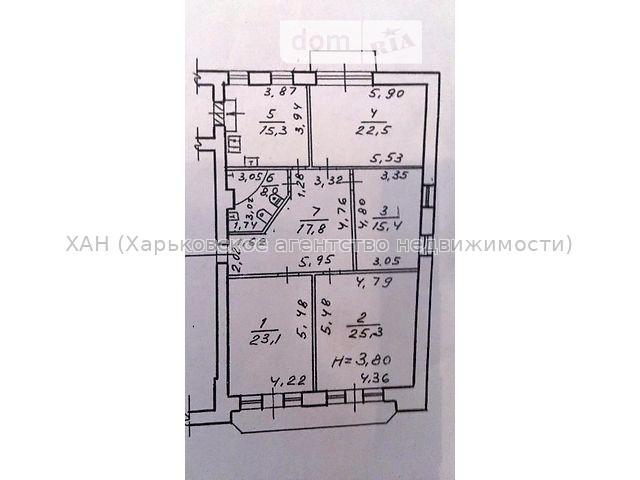 Продам квартиру Харьков, Сумская ул. 2