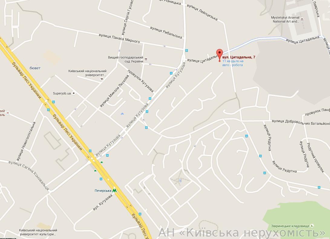 Фото 3 - Продам офис в многоквартирном доме Киев, Цитадельная ул.