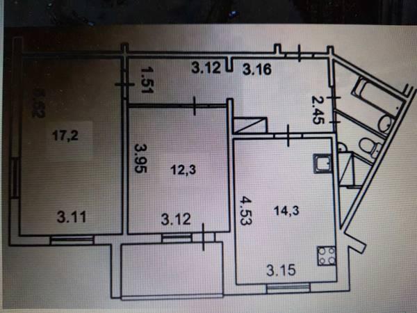 Продам 2-комн. квартиру по адресу Украина, Киевская область, Киев, Урловская ул., 20 фото 2 по выгодной цене