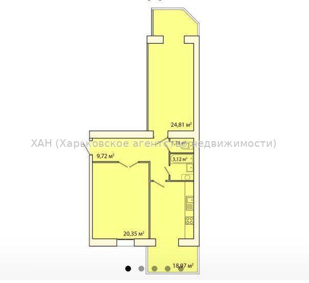 Продам квартиру Харьков, Мирная ул. 2