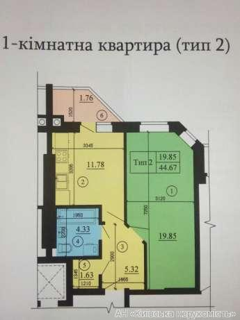 Фото 2 - Продам квартиру Киев, Тепличная ул.