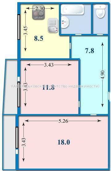 Продам 2-комнатную квартиру - sf-310-728 - виктория олеговна.