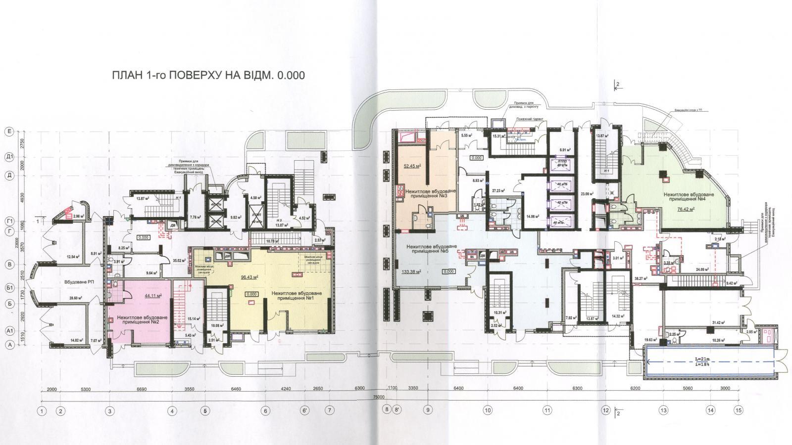 Продам офисное помещение Киев, Воссоединения пр-т 3