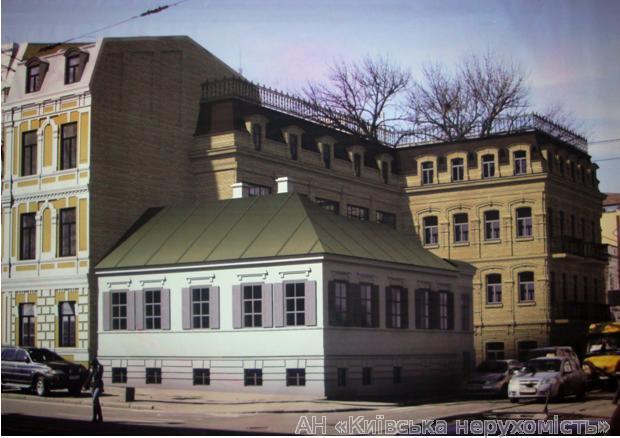 Продам отдельно стоящий офис Киев, Константиновская ул.