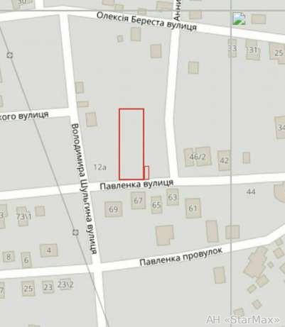 Продам участок под застройку жилой недвижимости Киев, Павленко ул. 4