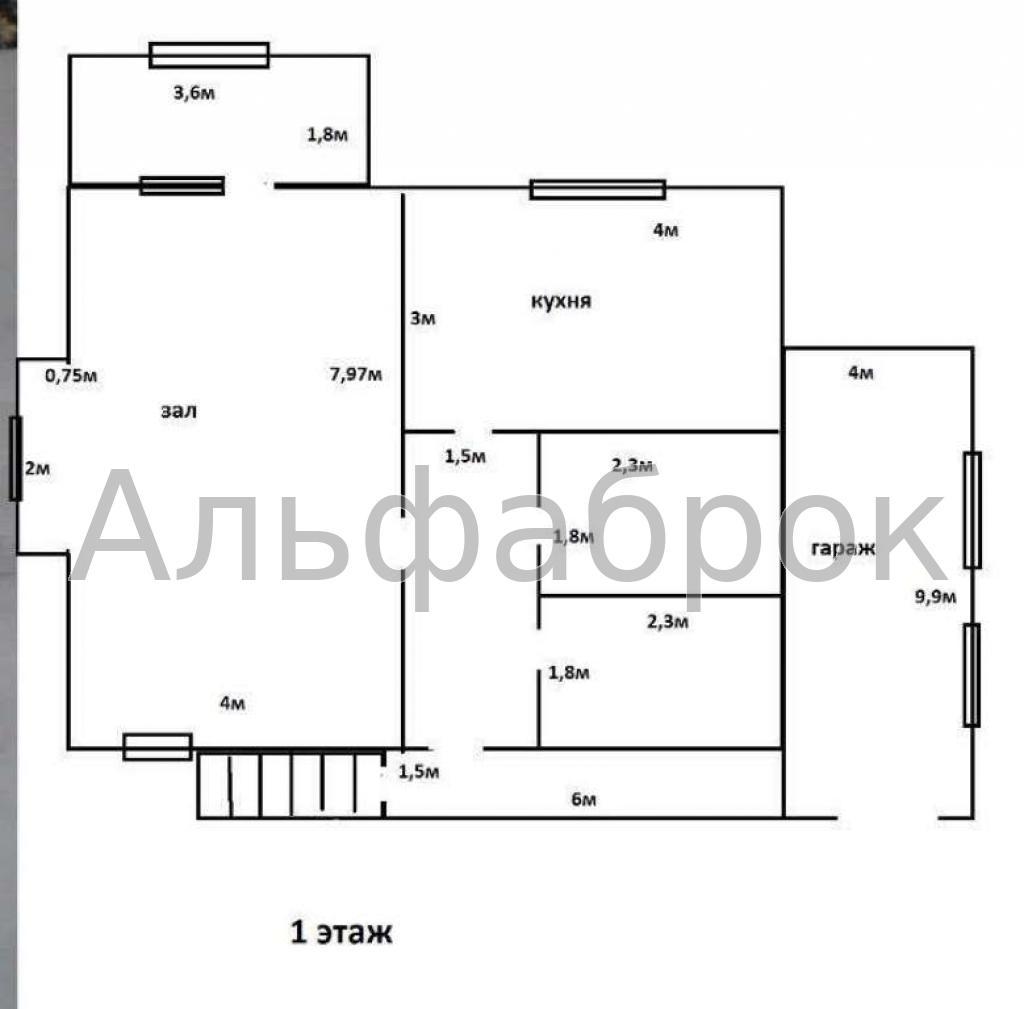 Продам дом Буча, Яблонская ул. 3