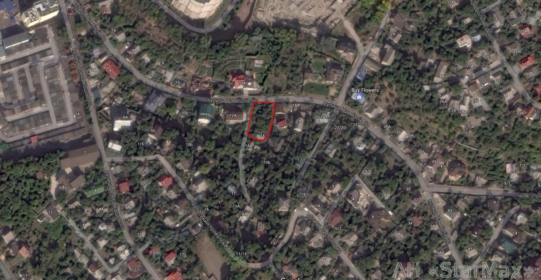 Продам участок с ветхим домом Киев, Цимбалов Яр ул. 2
