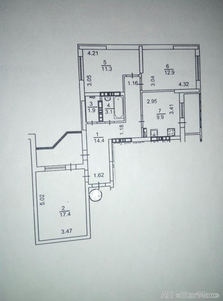 Продам квартиру Киев, Маяковского ул. 5