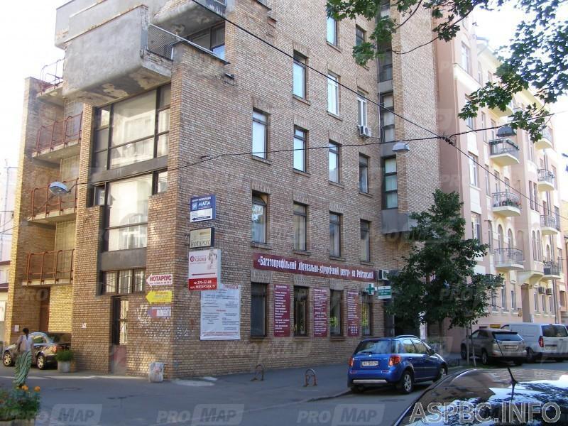 Продам отдельно стоящий офис Киев, Рейтарская ул. 4