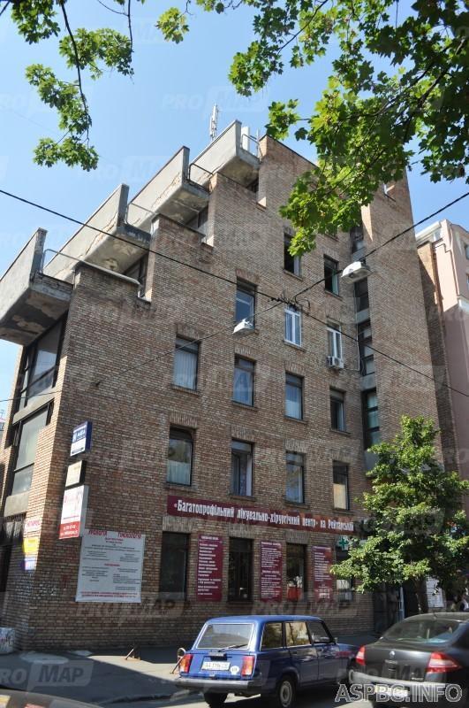 Продам отдельно стоящий офис Киев, Рейтарская ул. 3