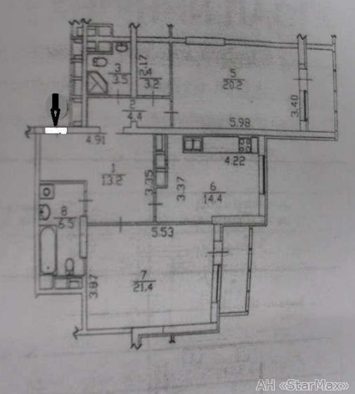 Продам квартиру Киев, Туманяна Ованеса ул. 2