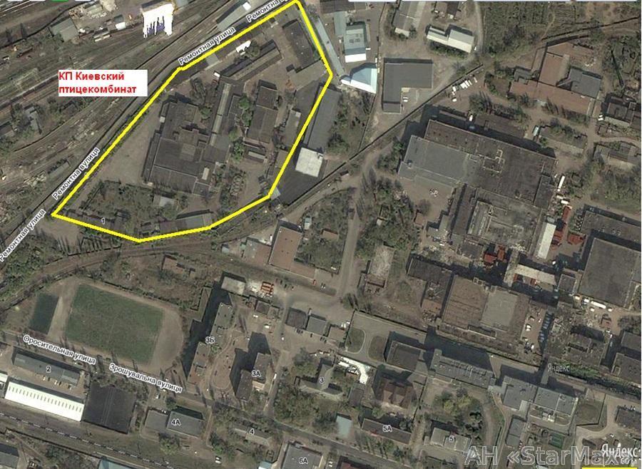 Продам промышленный комплекс Киев, Оросительная ул. 2