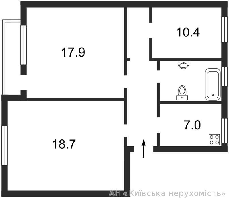 Фото 5 - Продам квартиру Киев, Довнар-Запольского ул.