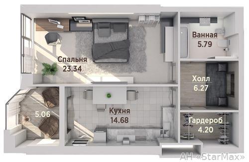 Продам квартиру Киев, Антонова Авиаконструктора ул. 2