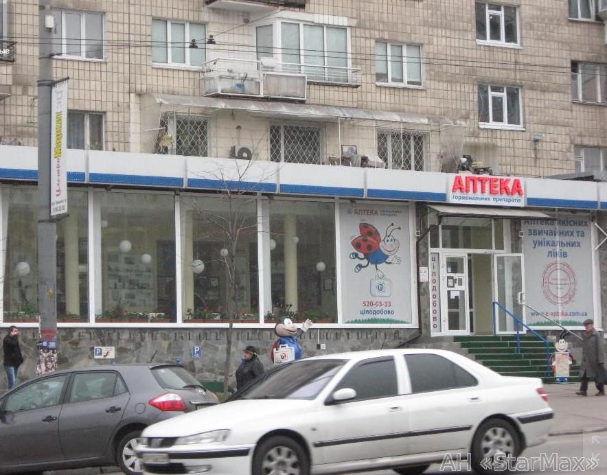Продам торговое помещение Киев, Липковского Василия Митрополита ул.
