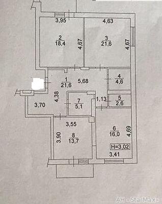 Продам квартиру Киев, Лебедева Академика ул. 4