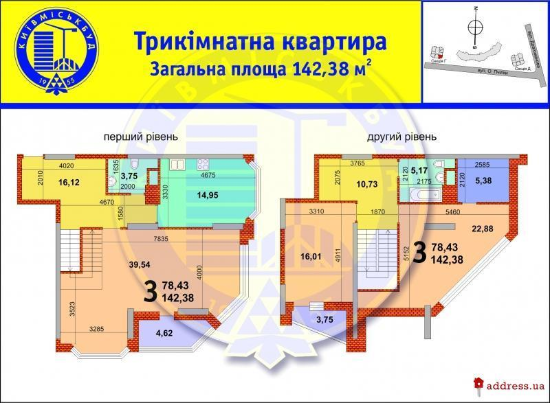 Продам квартиру несданный новострой Киев, Образования ул. 2