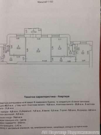 Продам квартиру Киев, Бассейная ул. 3