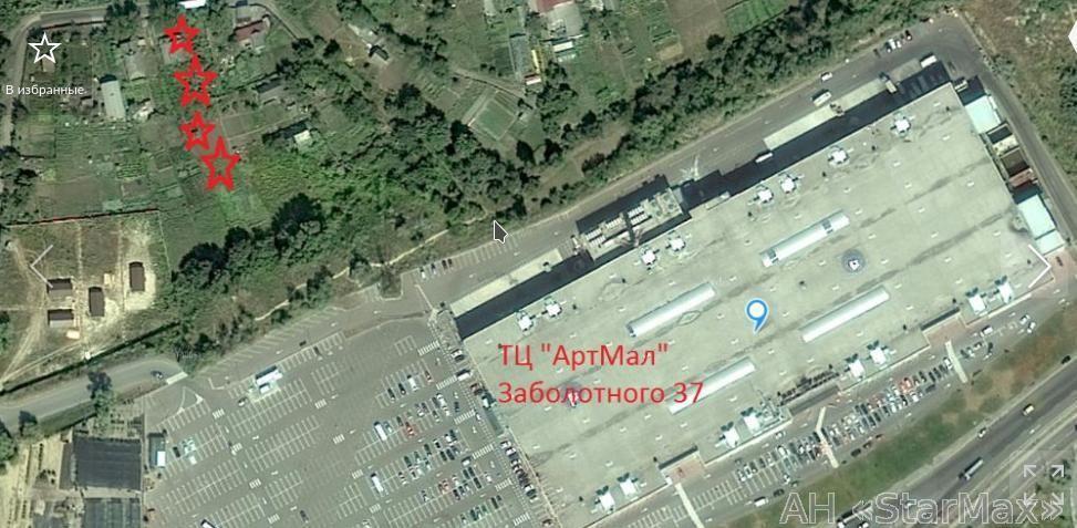 Продам участок под застройку жилой недвижимости Киев, Фестивальная ул. 3