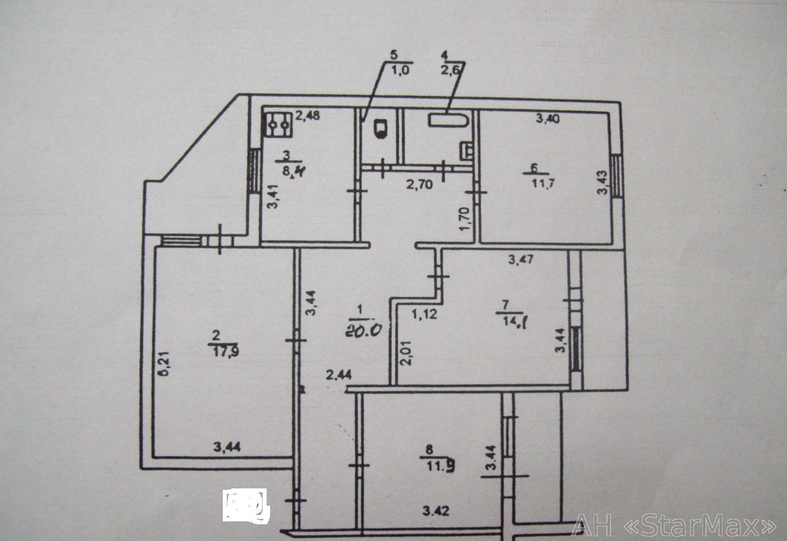 Продам квартиру Киев, Высоцкого Владимира бул. 3