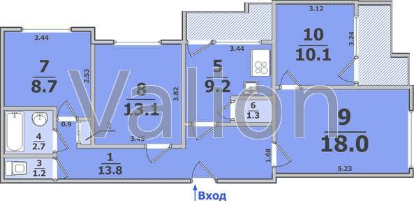 Продам 4-комнатную квартиру - sf-190-387 - агентство недвижи.