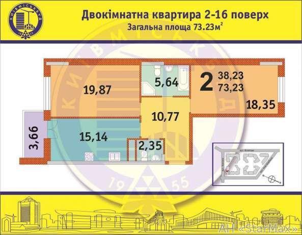 Продам квартиру Киев, Филатова Академика ул. 3