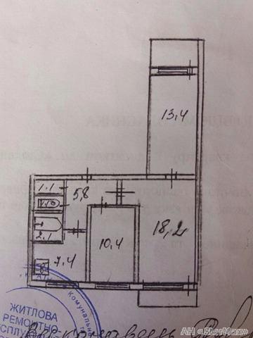 Продам квартиру Киев, Стальского Сулеймана ул. 5