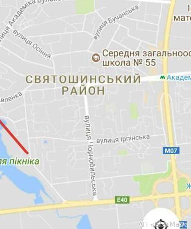 Продам участок под застройку жилой недвижимости Киев, Павленко ул. 3