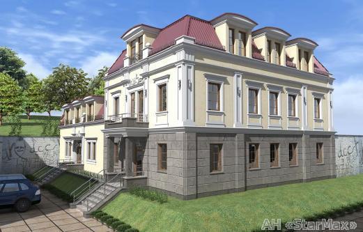 Продам офисное здание Киев, Воздвиженская ул.