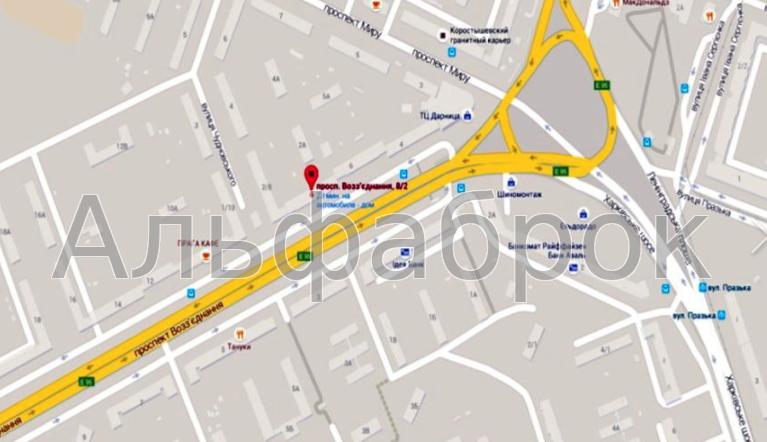 Продам офис в многоквартирном доме Киев, Воссоединения пр-т 5