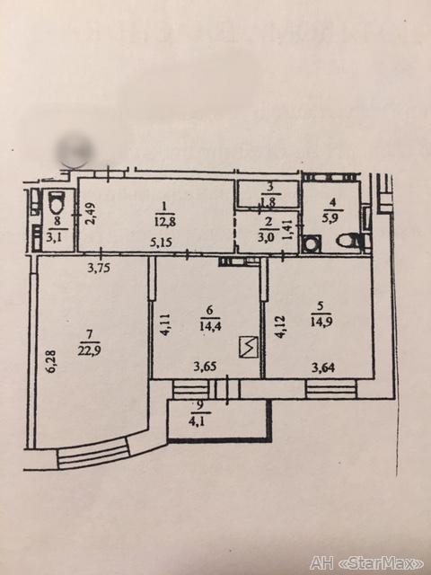 Продам квартиру Киев, Голосеевская ул. 2
