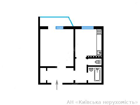 Продам квартиру Киев, Полярная ул. 3