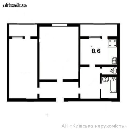Продам квартиру Киев, Драйзера Теодора ул. 2