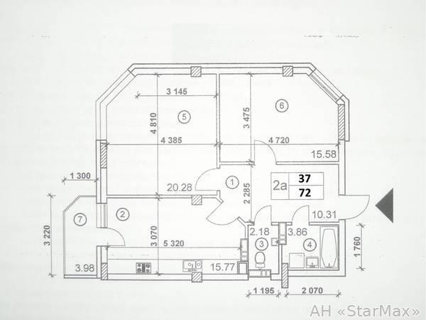 Продам квартиру Киев, Казацкая ул. 3