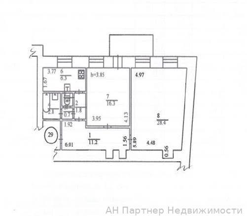 Продам квартиру Киев, Музейный пер. 3