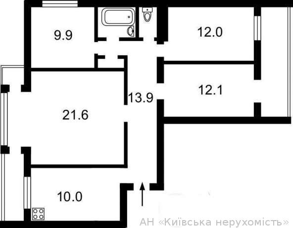 Продам квартиру Киев, Малышко Андрея ул. 2