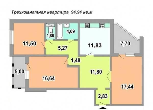 Фото 3 - Продам квартиру Киев, Белицкая ул.