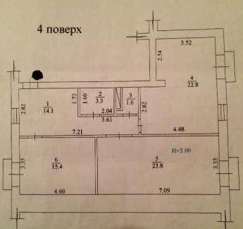 Продам квартиру Харьков, Верхнегиевская ул. 3
