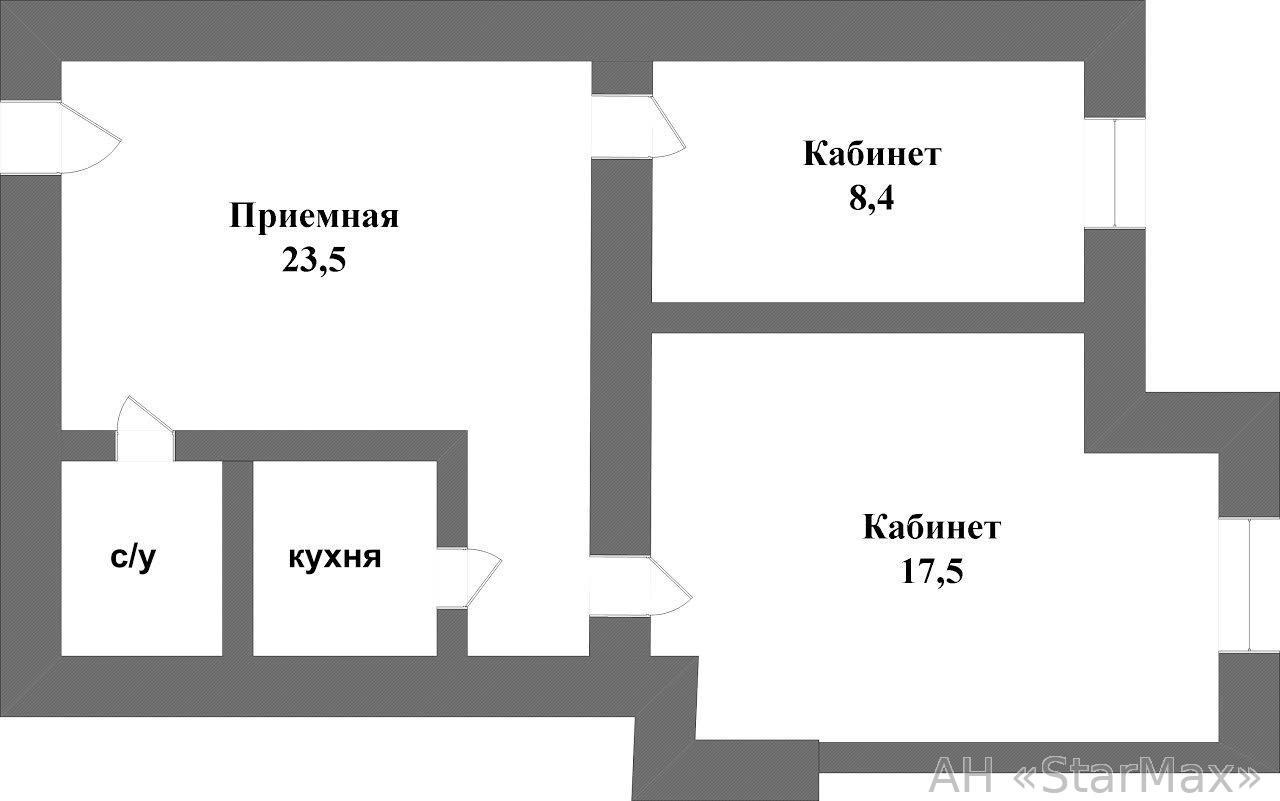 Продам офисное помещение Киев, Хмельницкого Богдана ул. 2