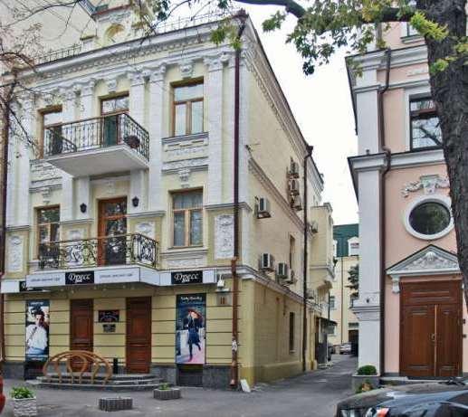 Продам офисное здание Киев, Борисоглебская ул. 2