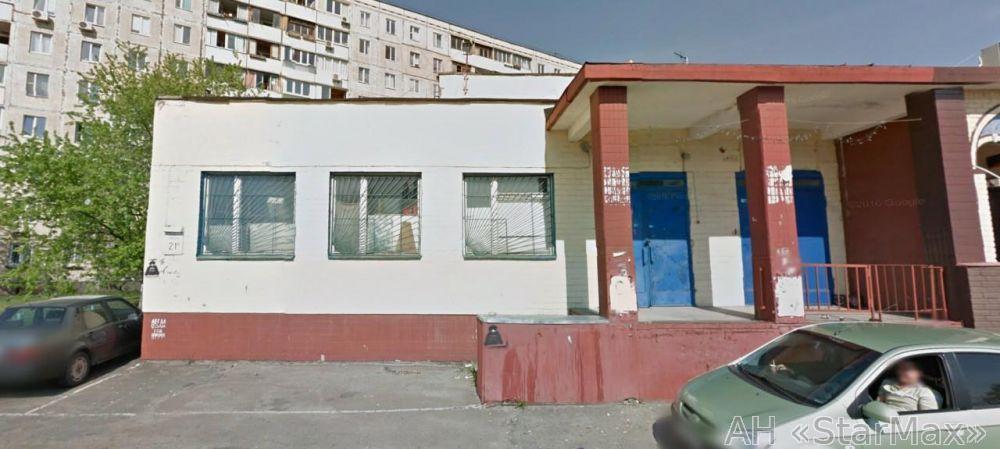 Продам торговое помещение Киев, Приречная ул.